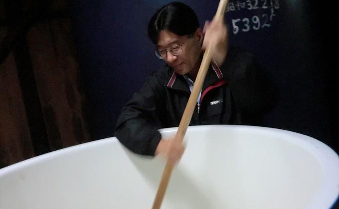文本酒造株式会社 4代目 文本憲介さん