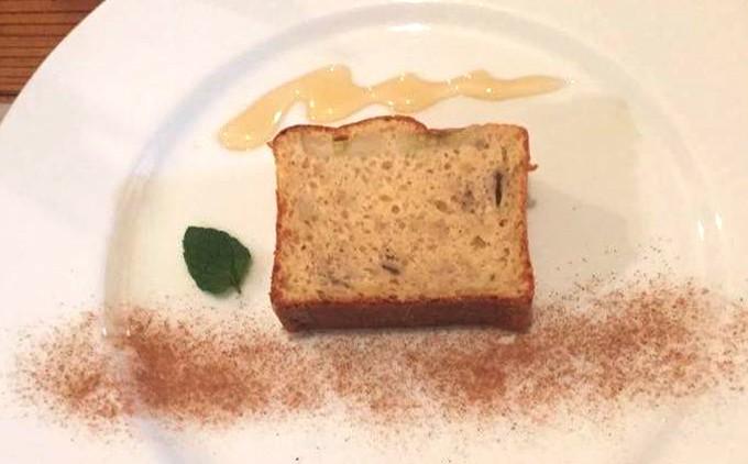 「井上米穀店」の米粉で作ったケーキ