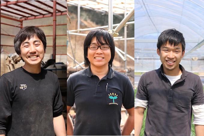 「龍馬ブラック」を手がける若手生産者。