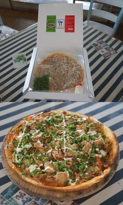 地元の食材をふんだんに使った手作りピザをご賞味下さい♪