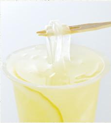 ゆずレモンくずきり