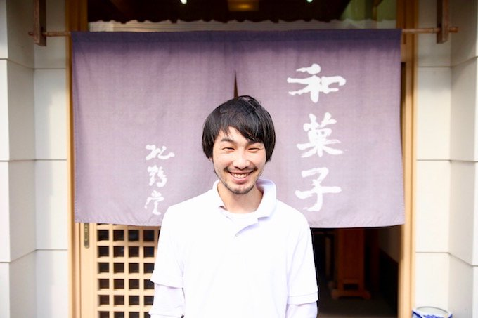 松鶴堂 三代目 松岡幹幸さん