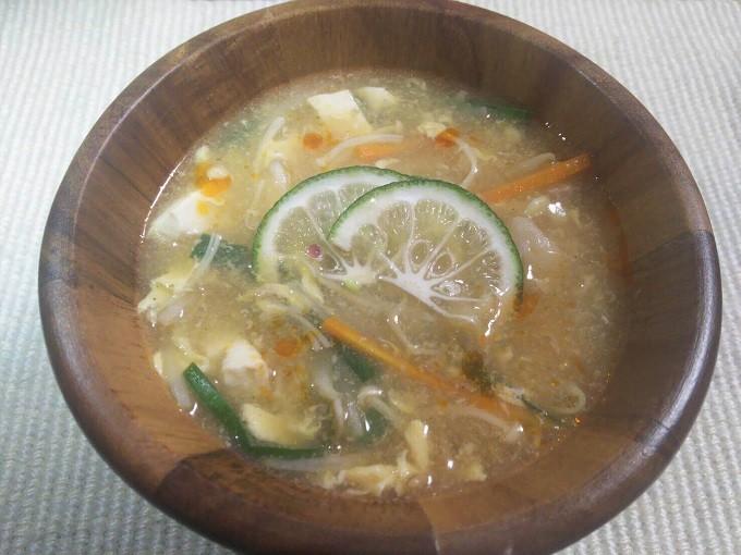かぼす酸辣湯