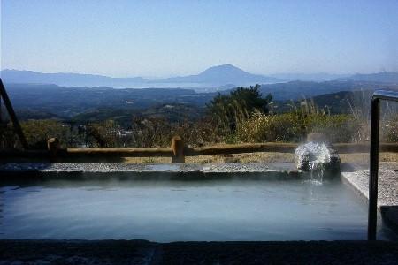 錦江の湯露天