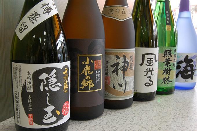 6種類の味・香りが楽しめる焼酎セット(720ml×6本)