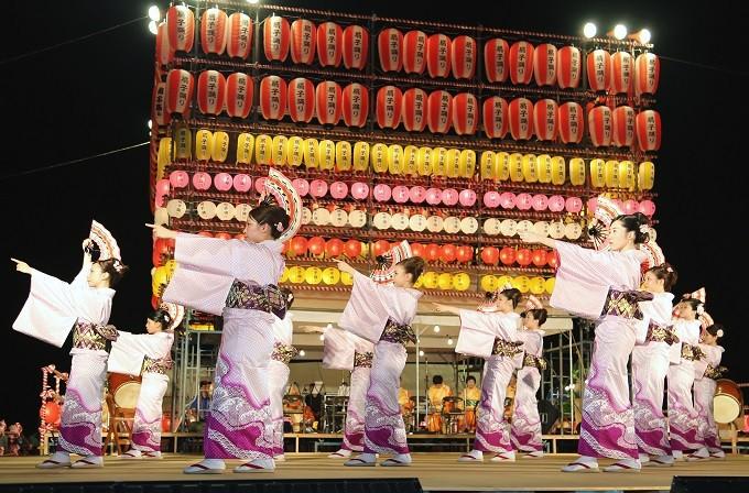 津久見扇子踊り―大分県指定無形民俗文化財―