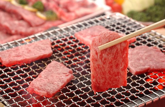 鹿屋産鹿児島黒牛焼肉セット600g