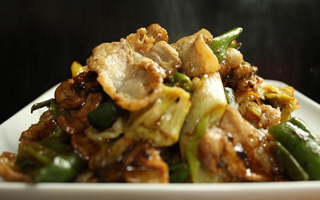 黒岩豚太くん回鍋肉