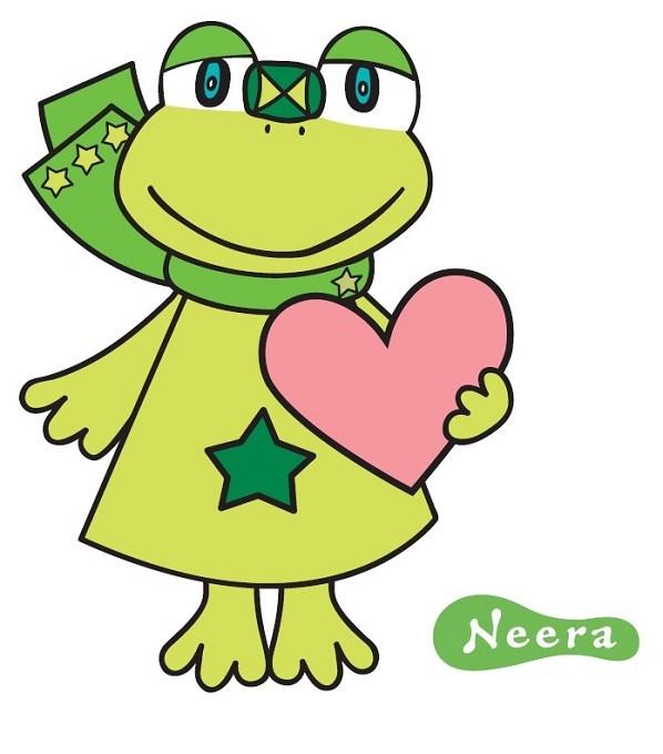 韮崎市のイメージキャラクター「ニーラ」