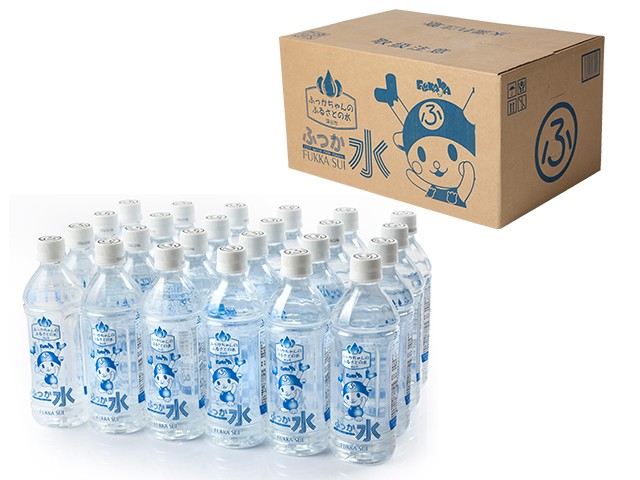 ふっか水24本セットを箱に入れてお届けします