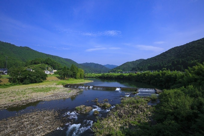 四万十川を体感できるうなぎを育てました