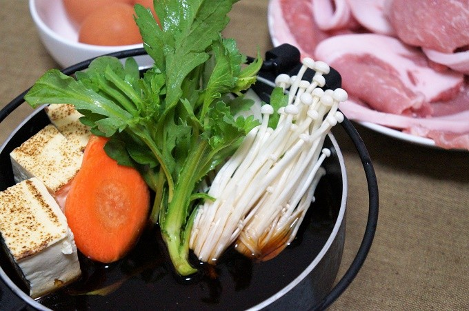 お好きなお野菜を準備するだけ!