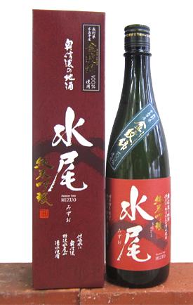 金紋錦100%使用 水尾 純米吟醸