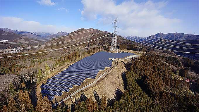 沢渡温泉第2太陽光発電所