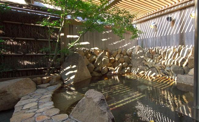 高知黒潮ホテルに隣接する天然温泉「龍馬の湯」