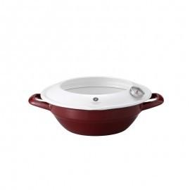 天ぷら鍋(赤)