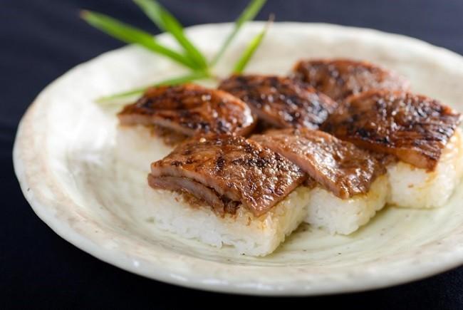 若狭牛サーロイン寿司