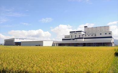 お米の乾燥調製貯蔵施設