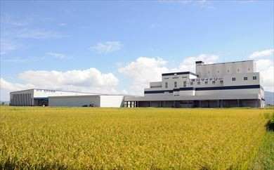 米の乾燥調製貯蔵施設