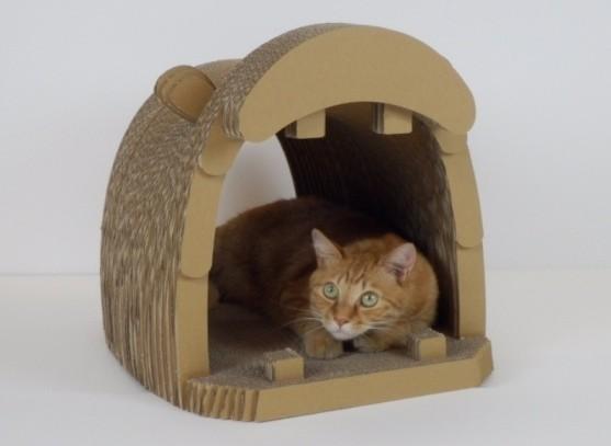ネコの爪とぎ家具 「DODACODA(かば)」