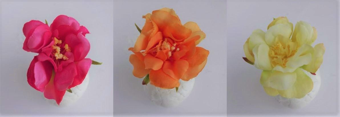 ピンク、オレンジ、イエローからお好きな色をお選びください