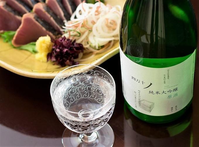 ウェスティンホテル大阪でも提供された「原酒」 720ml×1本