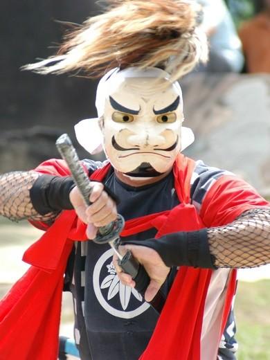 北上の民俗芸能『鬼剣舞(おにけんばい)』