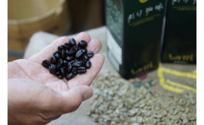 産地から栽培方法までこだわり抜いた豆のみを使用。