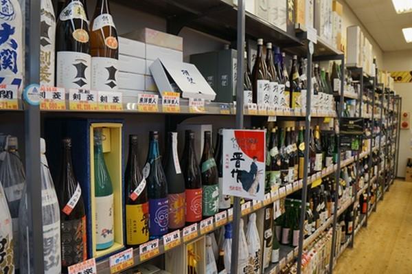 お酒の販売のプロがお勧めする地元産のお酒です