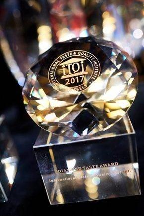 iTQiで最高位のDiamond Taste Awardを受けました