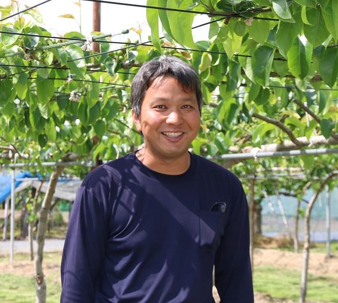 生産者の飯田さん