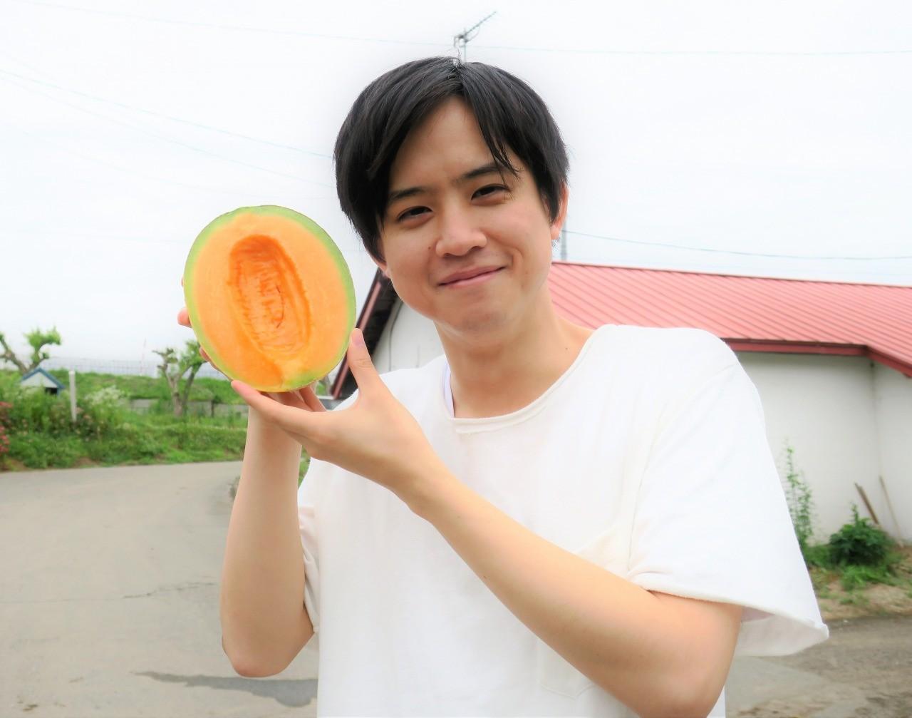 北海道栗山町メロン男子図鑑 山口拓人