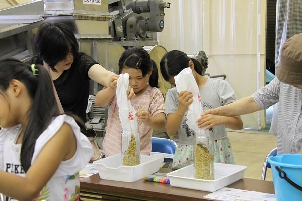 夏休みの自由研究にも!?白しょうゆの手作り体験をする子どもたち