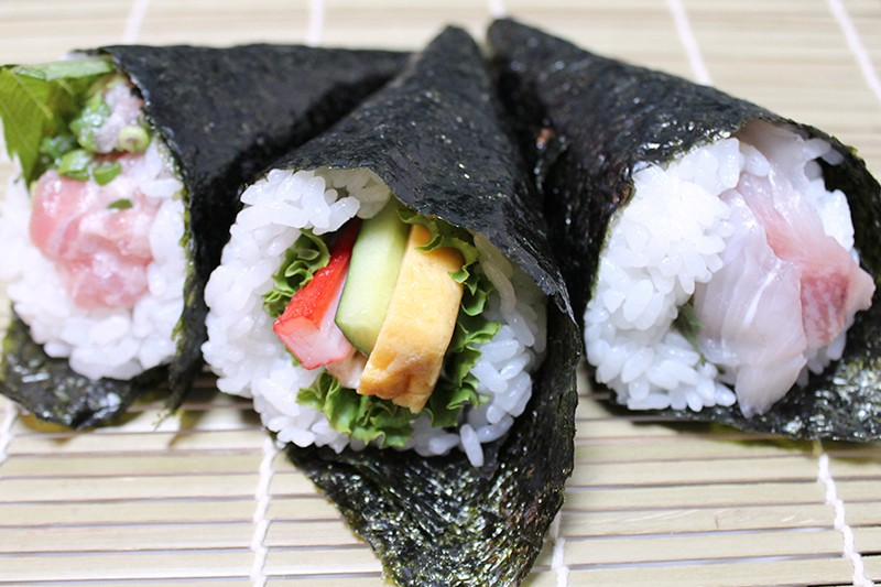 手巻き寿司パーティーにも大活躍!