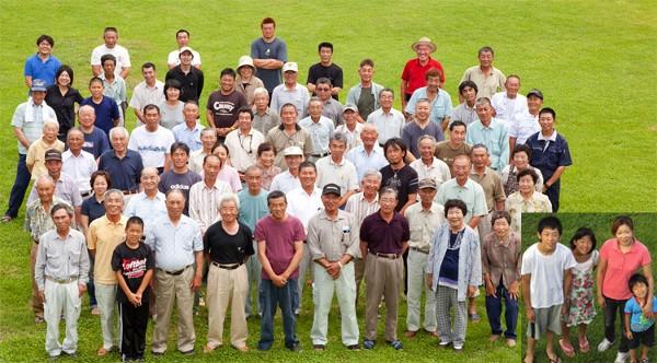 宮内商店の仁井田米を栽培している74戸の農家の皆さん
