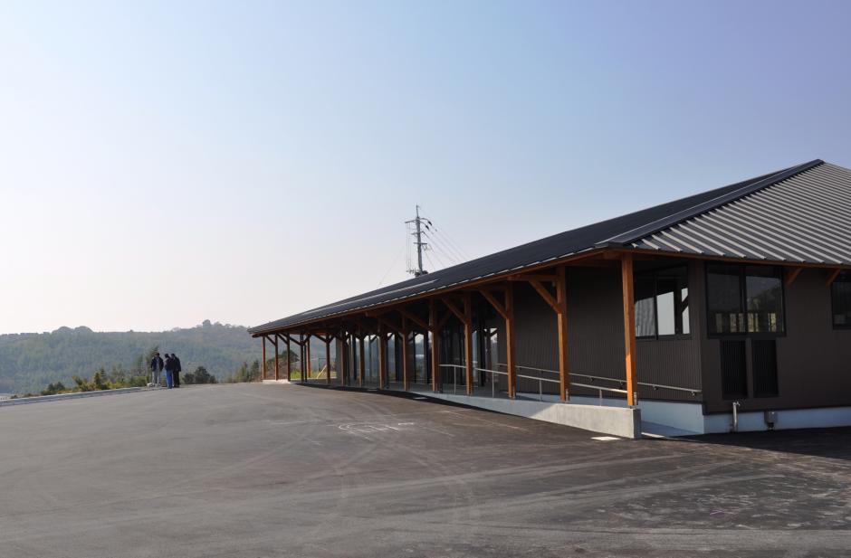 鹿島市産業活性化施設『海道しるべ』