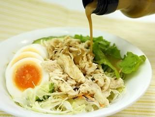 ごまドレッシング+サラダ