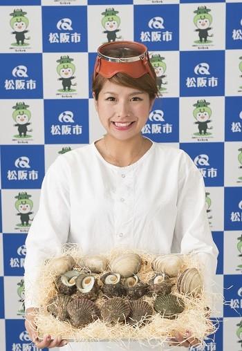 写真:松阪市ブランド大使・中川静香さん