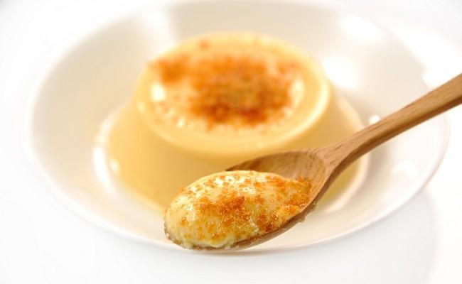 カステラ風味のぷりんに、ジャリジヤリとした食感が新しい新長崎名物!
