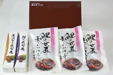 米沢鯉・昆布巻きセット