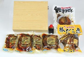 米沢鯉・棒だら煮セット