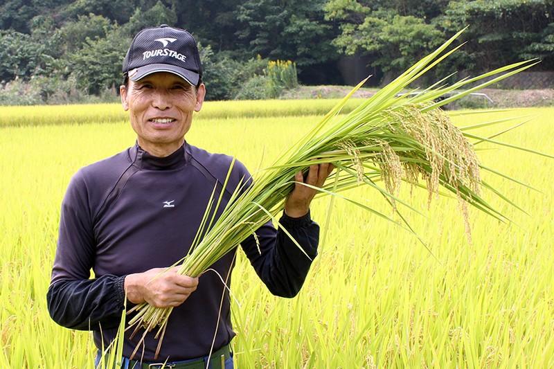生産者の顔が見えるお米をお届けします!