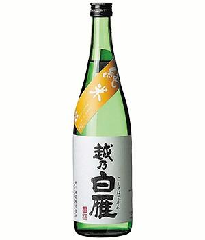 越乃白雁 純米酒