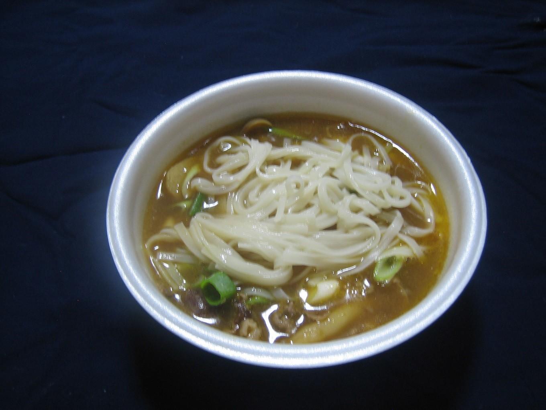 芋煮カレー米粉麺