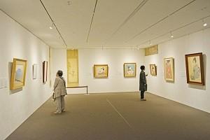 文化勲章受章作家39人の日本画を所蔵