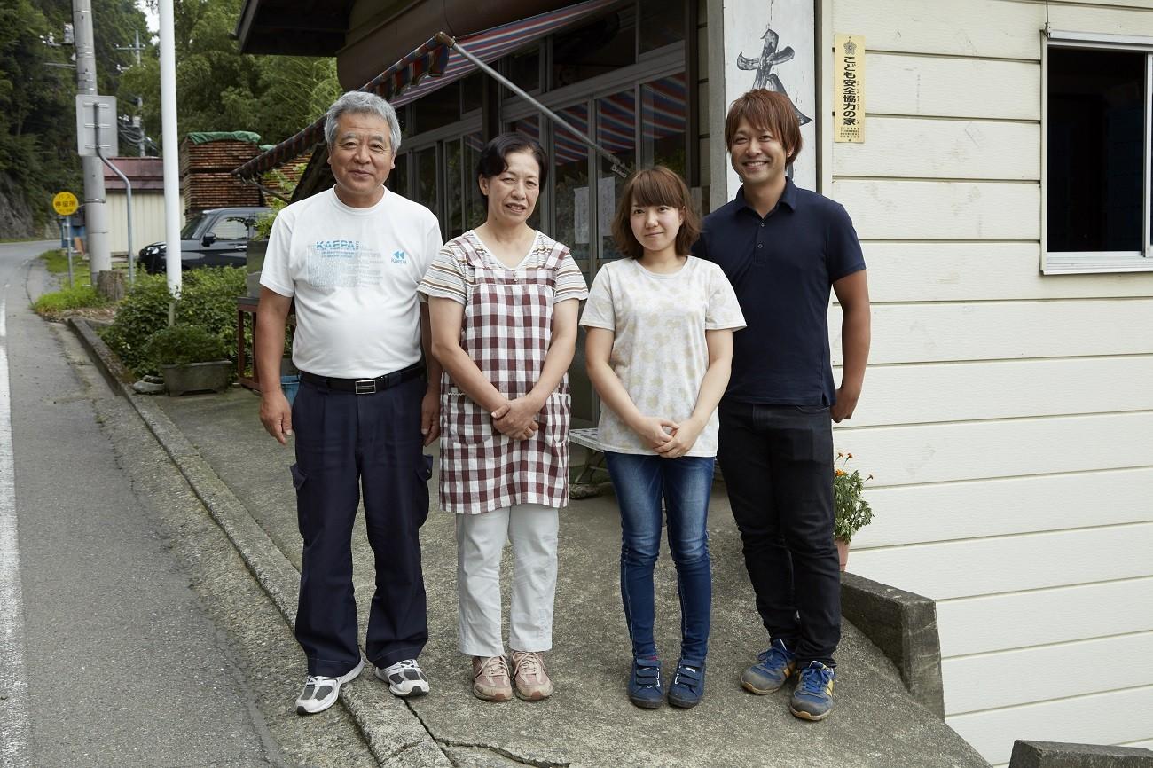 生産者の神戸さんご家族