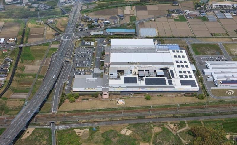 掛川市にあるユニ・チャーム静岡工場