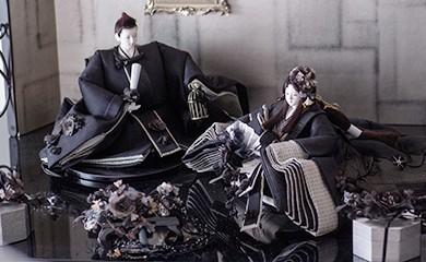 雛人形コンクール最高賞受賞。 「後藤人形」後藤由香子さん作の雛人形