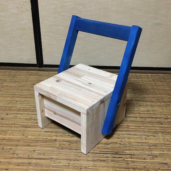 ぬくもりを感じることができる子ども椅子です。