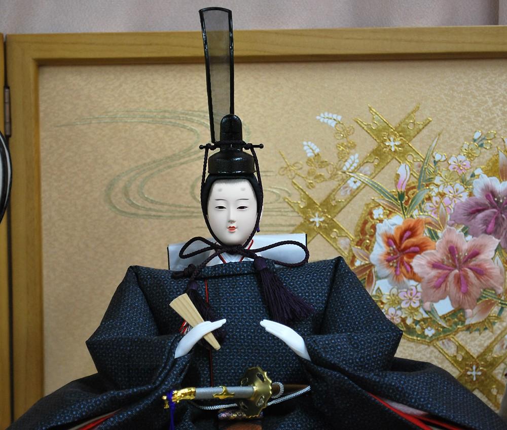 正絹大島紬を使用